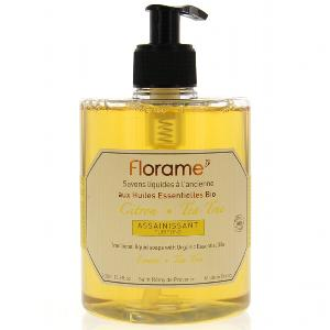 FLORAME Citron tea tree Savon liquide 500 ml
