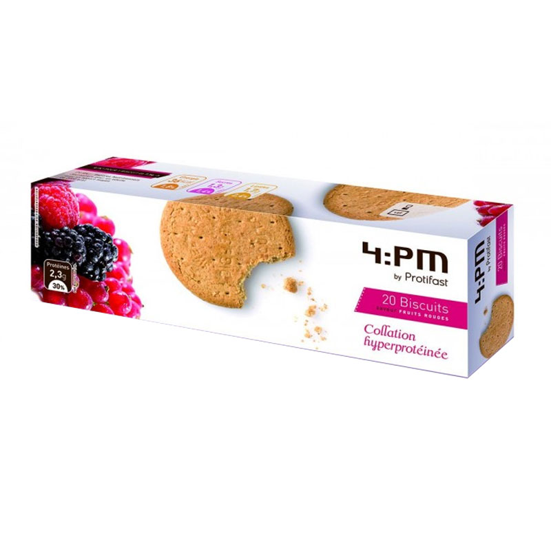 PROTIFAST 4:PM biscuits fruits rouges