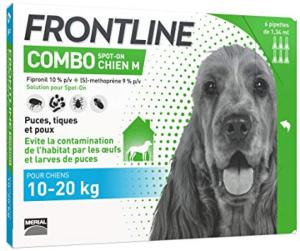 FRONTLINE Combo M chien 6 pipettes