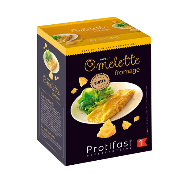 PROTIFAST Omelette fromage 7 sachets