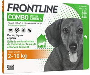 FRONTLINE Combo S chien 6 pipettes