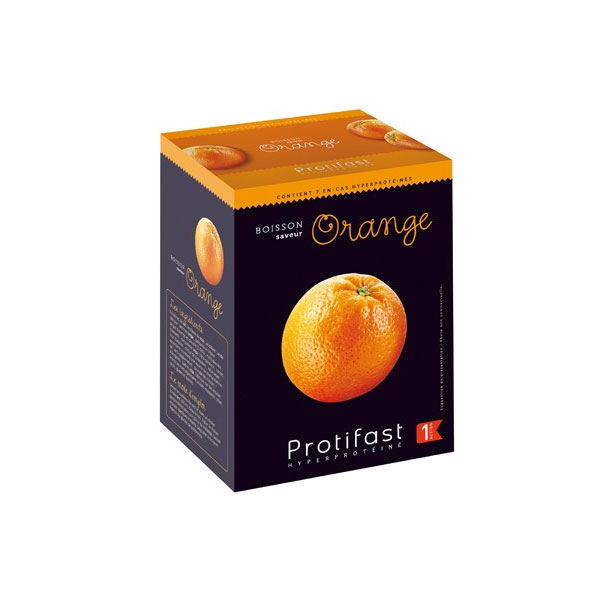PROTIFAST Boisson orange 7 sachets