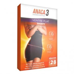 ANACA 3 Shorty ventre plat S/M