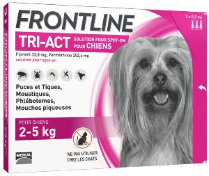 FRONTLINE Triple action chien XS 3 pipettes