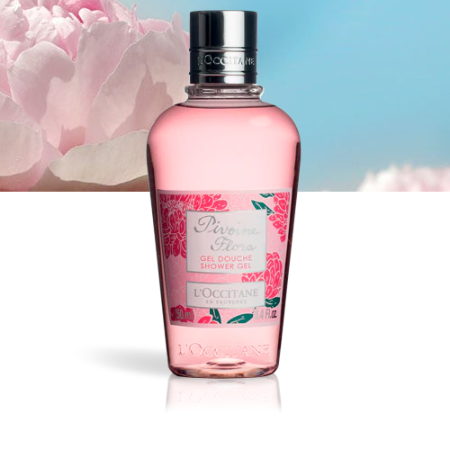 L'OCCITANE Gel Douche Pivoine Flora 250 ml