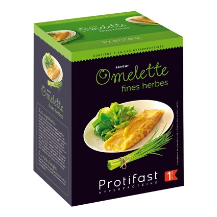 PROTIFAST Omelette fines herbes 7 sachets
