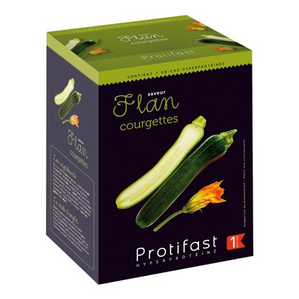 PROTIFAST Flan courgettes 7 sachets