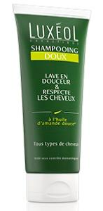 LUXEOL Shampoing doux 200ml