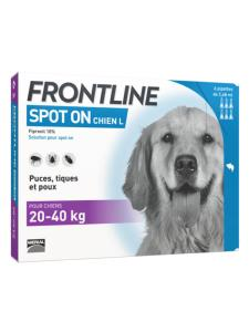 FRONTLINE Spot on chien L 6 pipettes